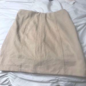 Dresses & Skirts - Tan mini skirt